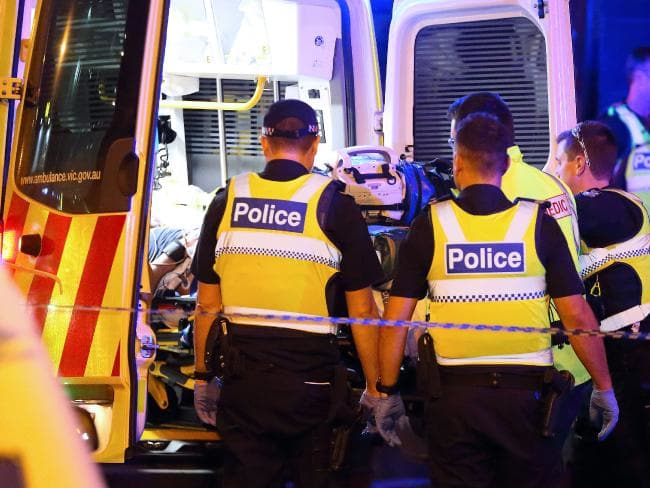 A female paramedic was punched in the chest by a drug and booze-fuelled man as they rushed him to hospital. File Picture: Patrick Herve.